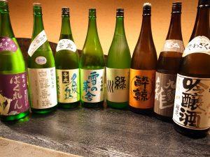 魚や 池袋西口 和食に合う厳選した日本酒