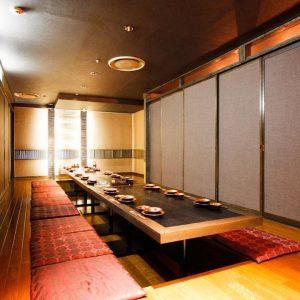 魚や 池袋西口 堀ごたつ式完全個室一部屋でご利用可