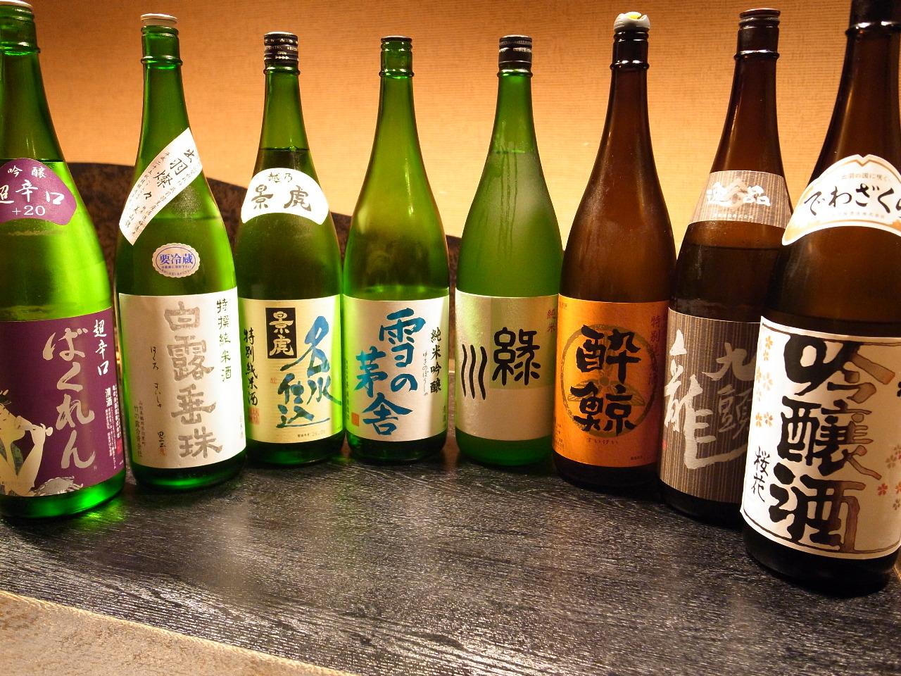 池袋でお魚料理と日本酒を楽しむなら【魚や】へ