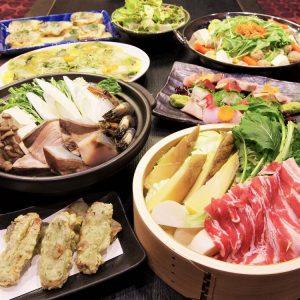 池袋の[ 魚や -TOTOYA-]で本格和食を味わう宴会コース